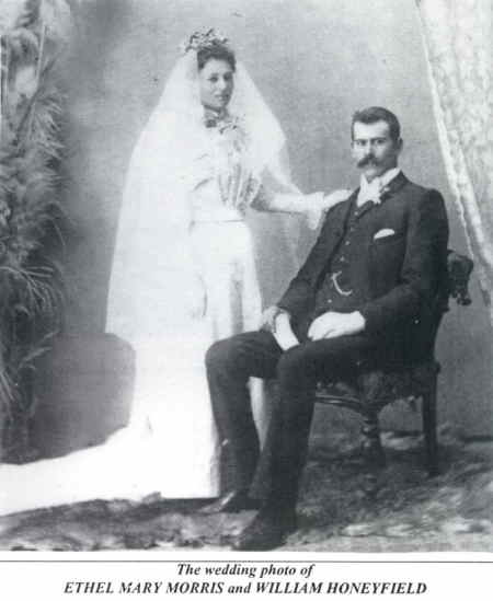 Wedding of William and Ethel